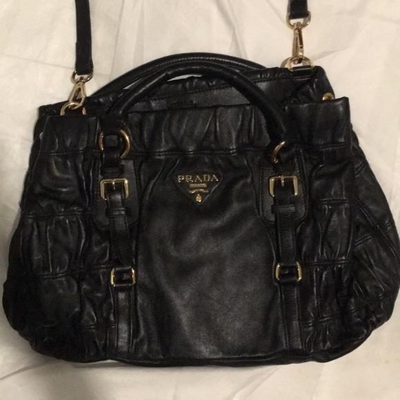 d8391270b898 Prada Bags | Authentic Bauletto | Poshmark